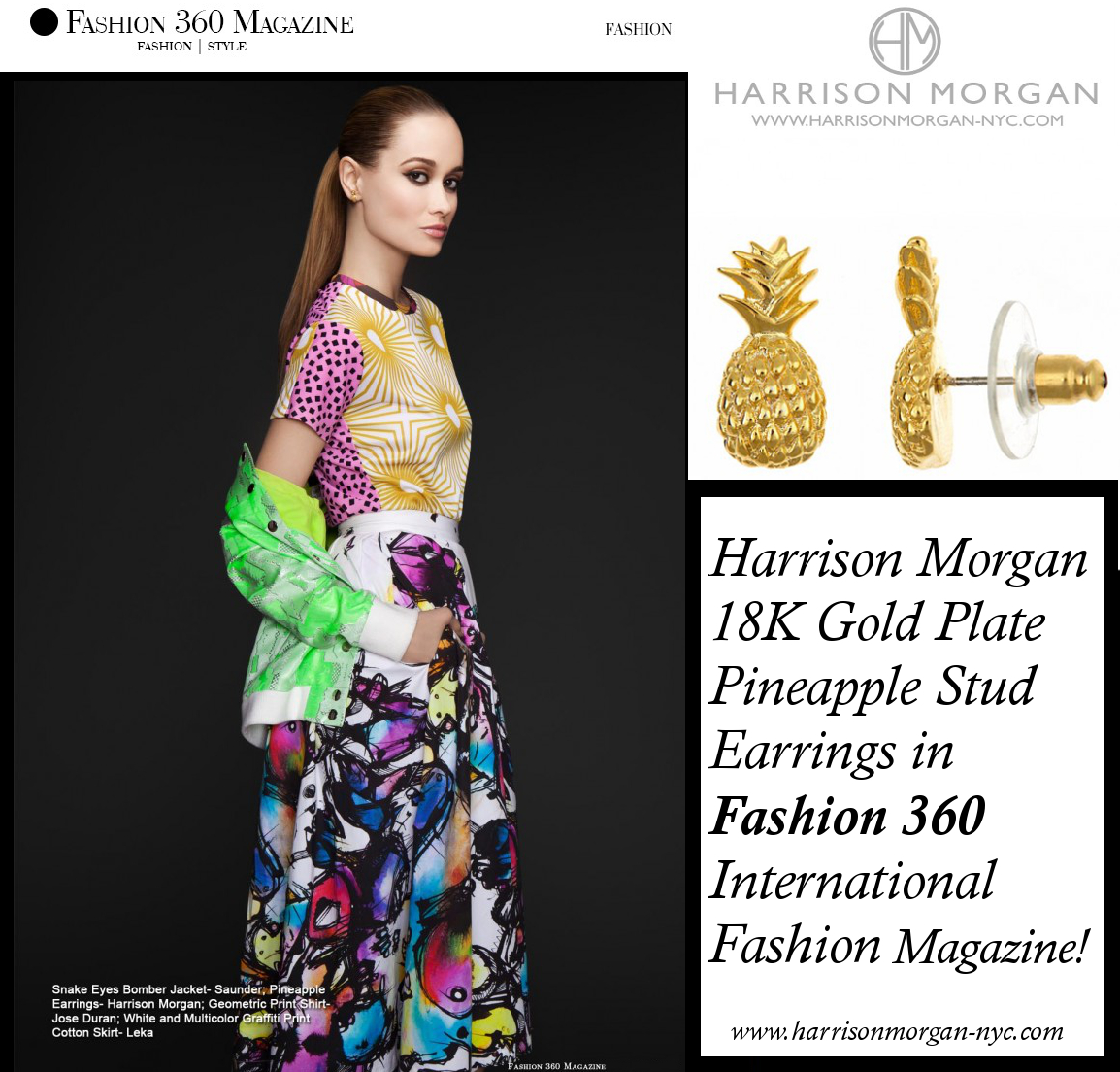 HMNYC Pineapple Fashion360