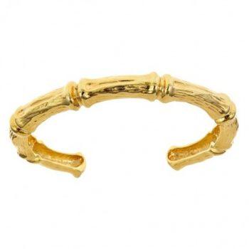 Bamboo Slim Cuff Bracelet