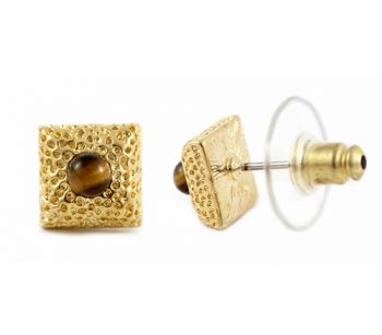 Cube_stud_w_Tiger_Eye