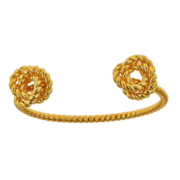 Rope Knot Simple Cuff