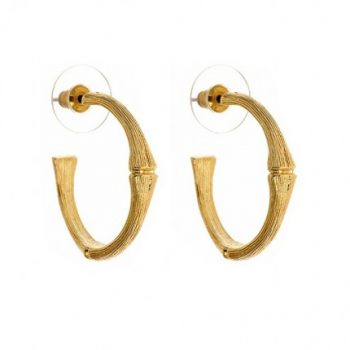 Small Bamboo Hoops