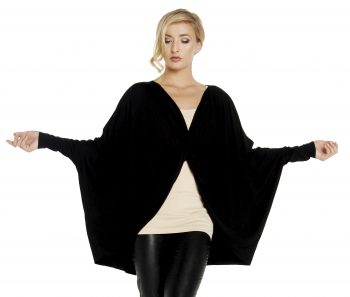 508 J Jersey knit Cocoon cropped