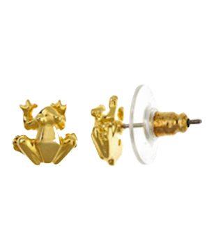11-Frog_earrings_18K_gold_plate