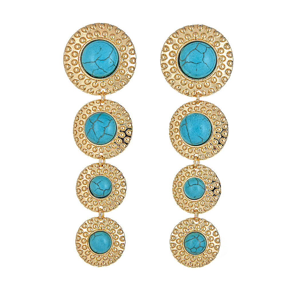 Cirque earrings Turquoise $68