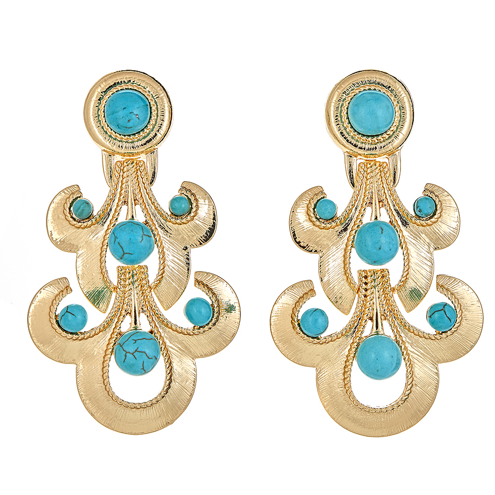 Raleigh earrings Turquoise $68