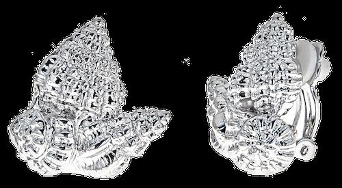 Shell cluster earrings – clip $38 no bkgrnd copy