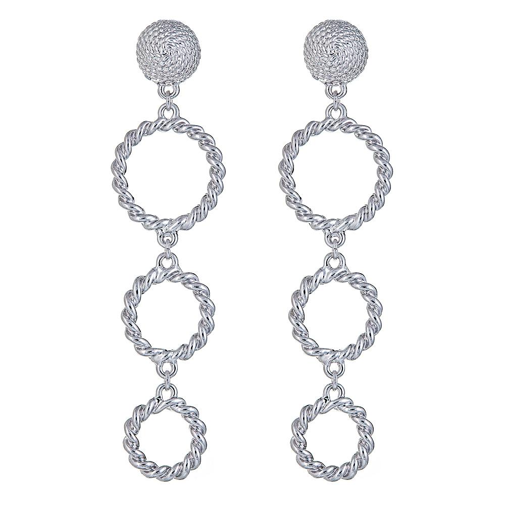 Triple Rope Ring earring – WP. $58jpg