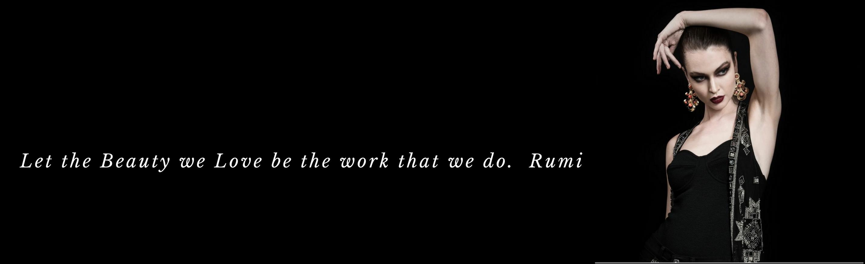 Rumi quote slide