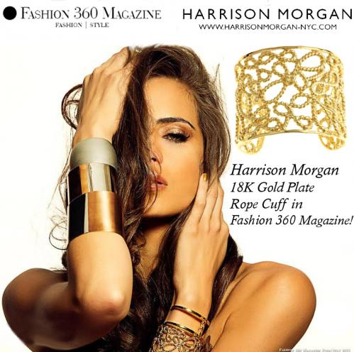 HMNYC Fashion360 Rope Cuff