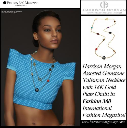 HMNYC Fashion360 Talisman Necklace